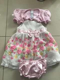 Assorted baby dress 3-6months