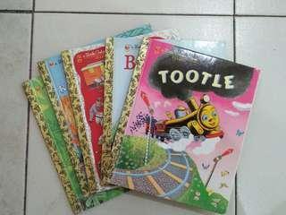 5 Books Little Golden Books (Classic)