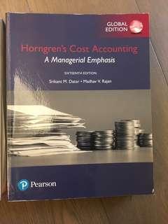 🚚 成本會計  Horngren's Cost Accounting