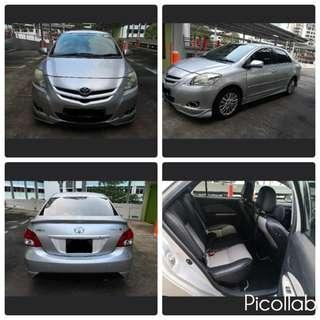 Toyota Wish & Vios For Rent