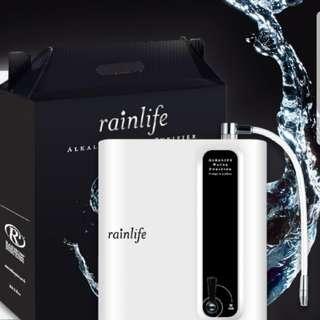 全新Rainbow Rainlife 鹼性濾水機連濾芯,加多一套濾芯