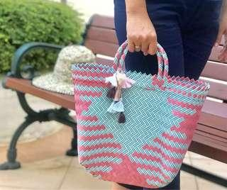 🚚 Handwoven handmade strawbag small size variery of option colours and model