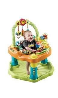 Brand New Evenflo ExerSaucer Double Fun Saucer, Bumbly