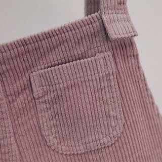 Overall dusty pink new