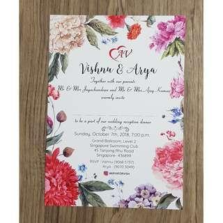 Invite Card Print