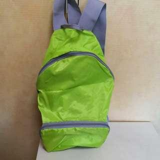 Foldable Backpack (easy use for travelling)
