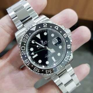 Rolex GMT MASTER II Steel 40mm 116710LN Year 2010