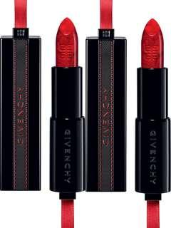 GIVENCHY Rouge Interdit Marbled Lipstick Rouge Révélateur lipstick 2018秋冬限定款 (紅色)  #15