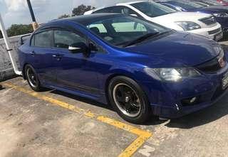 HONDA FD 1.8A  PADLESHIFT 2008/09 RM 6200 KERETA/MOTOR SINGAPORE UNTUK SPARE PART wasap.my/60126373536  Instagram:@kereta_scrap_singapore  carousell.com/kereta_scrap_singapore Page fb : Penjual Kereta