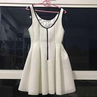 Mustard Seed, white dress