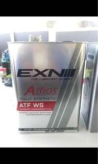 Exn全合成波箱油 Alphard  大霸 mark x ls gs 豐田各種專用WS CVT
