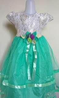 Gaun anak dress anak