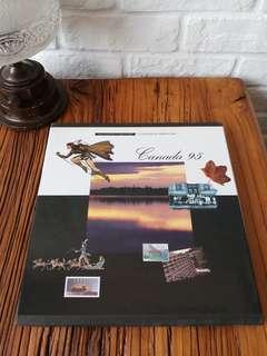出售加拿大1995年郵票年刊ㄧ本,收藏多年,售200元,有意請pm我,謝謝!