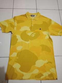 Bape authentic made in japan in rare camo color
