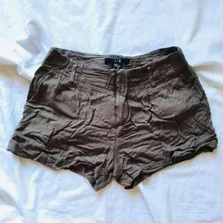 Forever 21 Olive Green Shorts