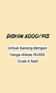 Diskon !! 😍