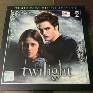 Twilight 3 Disc Deluxe Edition DVD