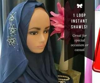 (CLEARANCE SALE) INSTANT SHAWLS