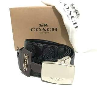 Ikat Pinggang Pria Coach Original-Coach Belt Signature