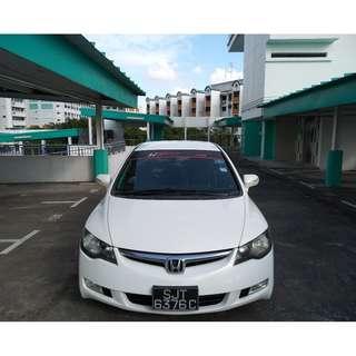 Honda Civic 1.8 White