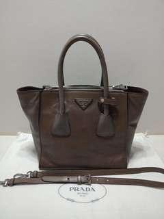4b1a10edfd84 Authentic Prada Calf Leather Bag