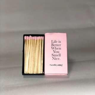 SOOHYANG Pink Matches