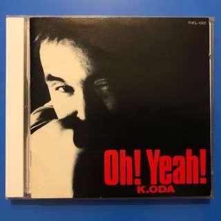 日本舊版cd 小田和正 Oh Yeah 1991 東京愛的故事 FunHouse