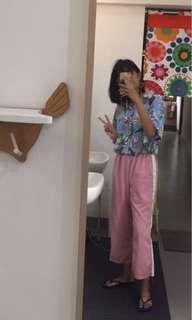 Chamniiiii Pink BKK Pants
