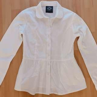 d.d white shirt