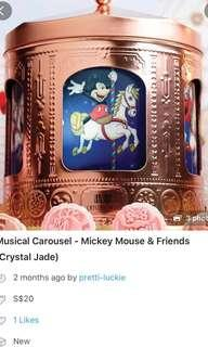 Musical Carousel ~ Mickey Mouse