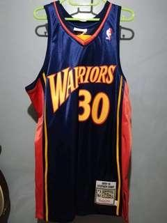Authentic Mitchell & Ness Stephen Curry Retro Jersey (2009-2010)