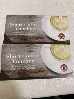 Pacific Coffee Voucher short size