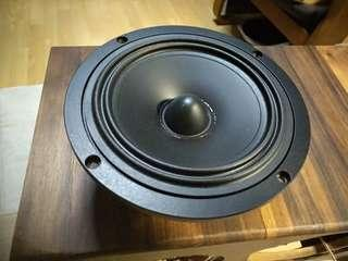 Tangband 5.25 inch speaker woofers, pair