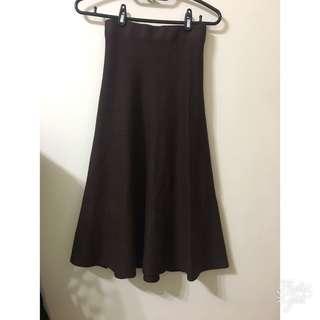 🚚 全新 厚針織長裙