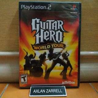Playstation 2 Original Games : PS2 Guitar Hero World Tour (New & Sealed)