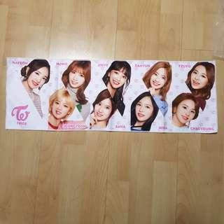 🚚 Twice Official Japan Release Event Slogan