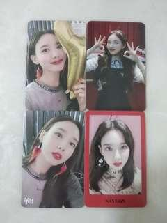 TWICE YES OR YES Photocards (Nayeon)