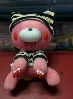 Rare Vintage Collectable Gloomy The Naughty Grizzly Bear Pink Prison CGP 149 Soft Toys