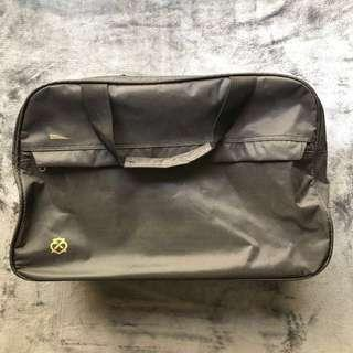 Gray Luggage Travel Bag with Trolley