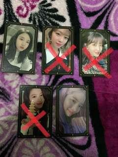 Wts/wtt twice tyoy photocards