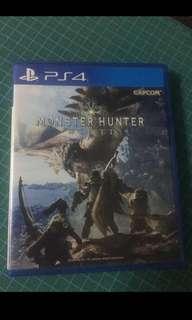 PS4 Monster Hunter World (R3)