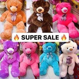 5ft Human size Teddy Bears