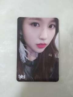 TWICE YES OR YES Photocards (Mina)