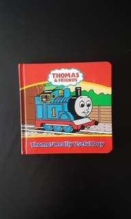 🚚 Preloved Storybook: Thomas and Friends - Thomas' Really Useful Day