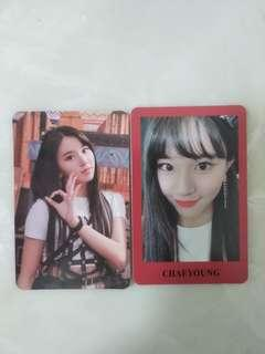 TWICE YES OR YES Photocards (Chaeyoung)