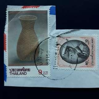 THSTM. 1995-10-08, 1997-05-05 Thailand Stamps.