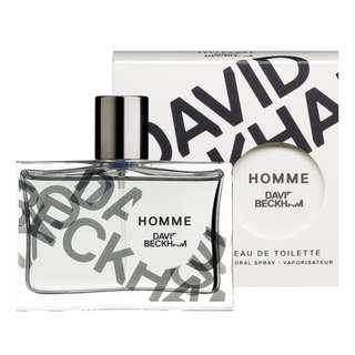 David Beckham Homme 30ml Eau De Toilette Spray For Men