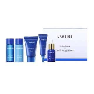 LANEIGE PERFECT RENEW TRIAL KIT 5 ITEMS