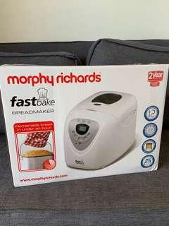 🚚 Brand New Morphy Richards fastbake bread maker
