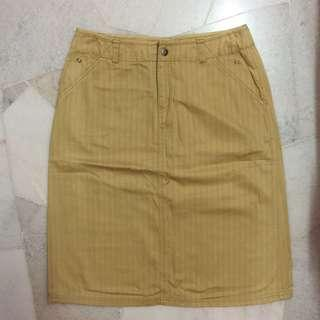 Knee length skirt #MFEB20